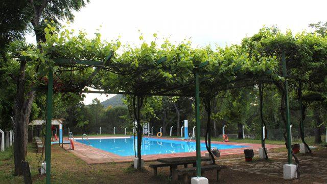 Vistas general de la zona de la piscina