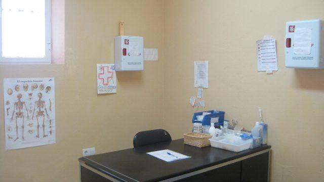 Vista de la consulta de enfermería 1
